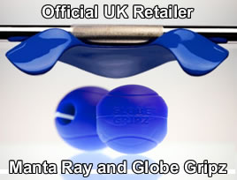 Manta Ray and Globe Gripz