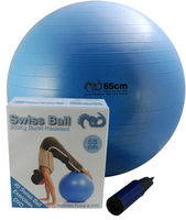 300Kg Swiss Ball 65cm + DVD + Pump
