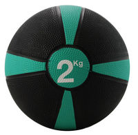Rubber Medicine Ball 2kg (Green / Black)
