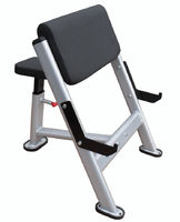 GQ Seated Preacher Curl Bench